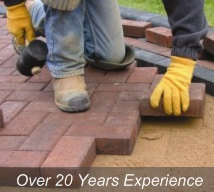 Many years of experience in all types of paving - Tarmac, Block Paving and Concrete